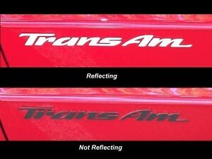 Trans Am Door Badge Overlay Decals Set Of 2 93 02 Trans Am