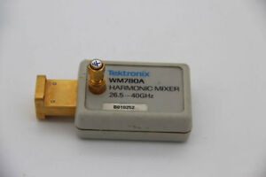 Tektronix Wm780a 26 5 Ghz To 40 Ghz Harmonic Mixer