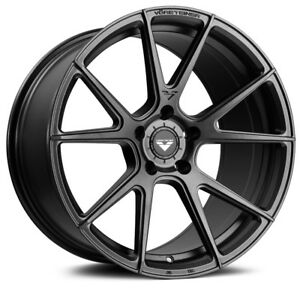19 Vorsteiner V ff 106 Forged Concave Graphite Wheels Rims Fits Porsche 996 911