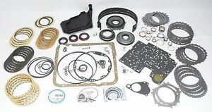 2007 Gm Chevy Truck 4l60e Hd Master Transmission Rebuild Kit W Molded Pistons