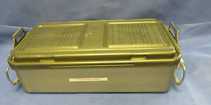 V Mueller Genesis Full Size Sterilization Medical Container 23 5 X 12 5 X 6