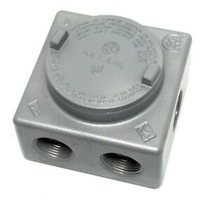 Killark Grss 3 Explosion Proof Junction Box With 7x 1 Hubs