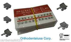 Lot Of 20 Orthodontic Bracket Mini Roth Mono Block Mim Slot 022 With H 3 4 5