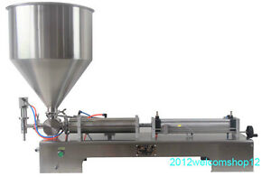 Liquid And Paste Filling Machine 40 1000ml For Cream Shampoo tooth Paste 110v