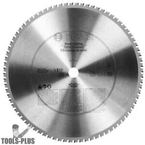 14 Inch X 80t Ferrous Metal Cutting Circular Saw Blade Bosch Tools Pro1480st New