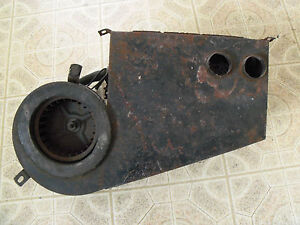 Jaguar 1964 3 8s 3 4s 420 Possible Other Early Jags 1 Heater Box Assembly