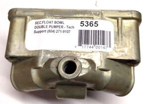 Aed 5365 Secondary Fuel Bowl Holley 4150 Center Pivot Double Pumper Carbs