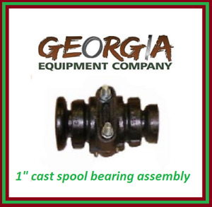Disc Harrow Bearing Complete 1 Square With Caps And Bolts King Kutter 504110