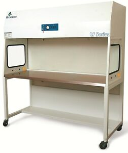 Horizontal Laminar Flow Hood 6ft Clean Bench Workstation Brand New With Base