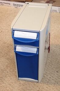 Rubbermaid Medical Vertical Expansion Pack 2 Drawer Module 1836567