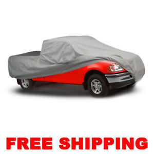 Silver Car Cover Waterproof Outdoor Pickup Indoor Truck Soft For Ford F series
