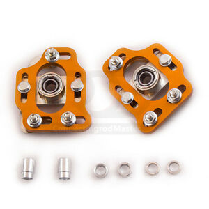 Camber Plates For Ford Mustang 79 89 Front Coilovers Top Mounts Kit 3 Pair