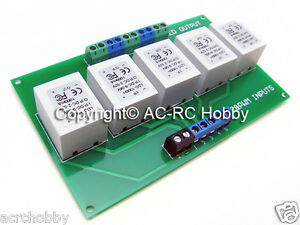 Ldd1000h 5 Channels Led Driver With Pcb Board