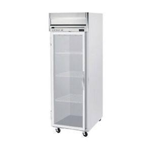 Beverage Air Hrs1hc 1g Glass Door One section Reach in Refrigerator
