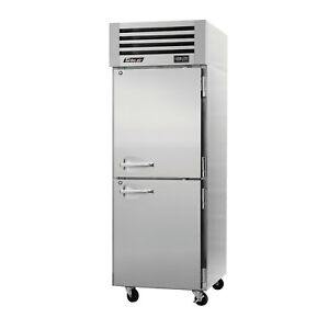 Turbo Air Pro 26 2f n Single Section Half Solid Door Reach in Freezer