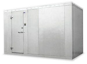 Norlake 10x14x7 7 Nor lake Fast Trak Outdoor Walk In Cooler W Remote Condenser