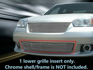 Billet Grille Front Bumper Grill For Chevy Malibu 2006 2007