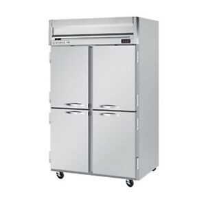 Beverage Air Hfs2hc 1hs Half Solid Door Two section Reach in Freezer