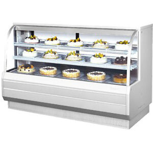 Turbo Air Tcgb 72 dr Non refrigerated Bakery Display Case