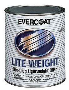 Evercoat 156 Lite Weight Non Clog Lightweight Auto Body Filler 8 Gallon