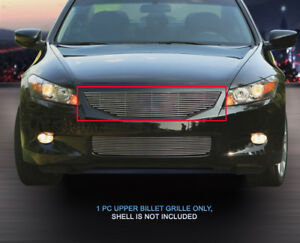 Polished Billet Grille Front Upper Grill For Honda Accord Coupe 2008 2009 2010