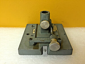 Gaertner Scientific 6 x5 5 Micrometer Clamp Stand For Optical Tooling