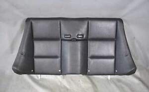 Bmw E46 3 Series Convertible Rear Seat Backrest Pad Cushion Black Vinyl Used Oem
