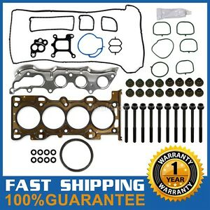 For 03 11 Ford Focus 2 0 2 3 Cylinder Head Gasket Bolts Set One Year Warranty