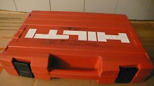 Hilti Te6 s Rotary Hammer Drill With Two 3 8 And One 18 Bites And Case