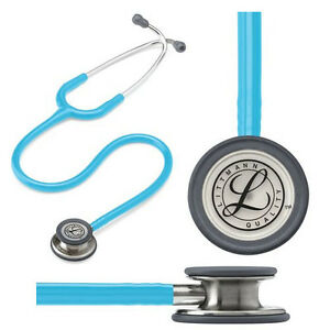 Littmann Classic Iii Stethoscope Turquoise Tube 27 Part No 5835 Qty 1