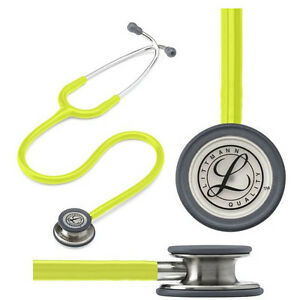 Littmann Classic Iii Stethoscope Lemon lime Tube 27 Part No 5839 Qty 1