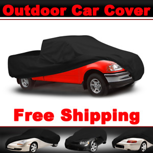Black Car Cover Waterproof Outdoor Pickup Indoor Truck Soft For Ford F series