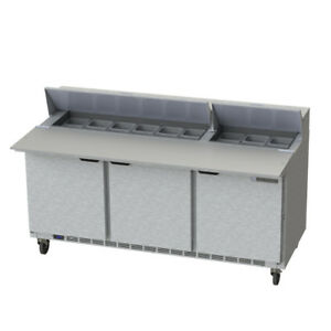 Beverage Air Spe72hc 18c 72 Sandwich Top Refrigerated Counter