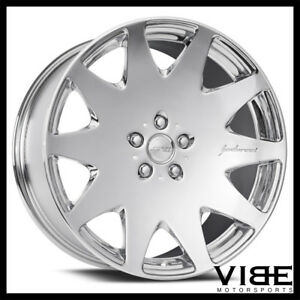 20 Mrr Hr3 Chrome Concave Vip Wheels Rims Fits Ford Mustang