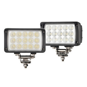 2x 6 Inch 45w Led Work Light Flood Driving Fog Lamp Offroad Motorcycle 4x4 Atv