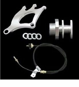 1979 1995 Mustang Heavy Adjustable Clutch Cable Quadrant Firewall Adjuster Kit