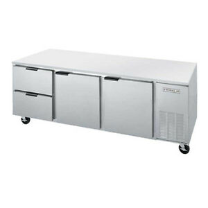 Beverage Air Ucrd93ahc 2 93 Undercounter Reach in Refrigerator W Drawers