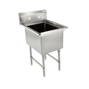 John Boos 1b16204 Single Compartment Sink