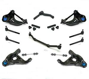 Control Arms Suspension 14pc Kit For 82 95 Chevrolet S10 Pickup Rear Wheel Drive