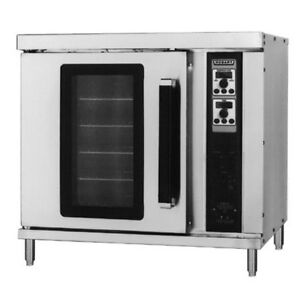 Hobart Hec202 208v Double Deck Electric Convection Oven