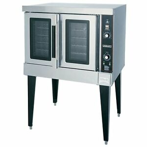 Hobart Hec502 208v Double Deck Electric Convection Oven