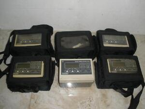 Lot Of 5 Bard Ambulatory Pca Infusion Pump
