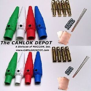 Camlok 2 2 0 Male Female In Line 1 Phase Kit 8 Pcs
