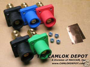Camlok 2 4 0 Male Only Panel Mount 3 Phase Kit