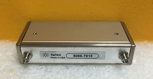 Agilent hp 5086 7815 Dc To 4 Ghz 70db 24vdc Sma Programmable Attenuator New