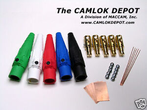 Cooper Camlok 2 0 4 0 Male 3 Phase Kit 5 Pcs