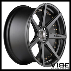 22 Vertini Dynasty Grey Concave Wheels Rims Fits Dodge Charger Rt Srt8