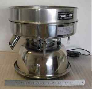 Stainless Steel Electric Chinese Medicine Sieve Vibrating Sieve Machine 110v T