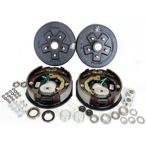 5 On 4 5 Trailer Hub Drum Kit W 10x2 25 Electric Brake For 3 500 Trailer Axle