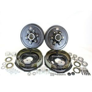 6 On 5 5 Trailer Hub Drum Kit W 12x2 Electric Brakes For 5 200 Trailer Axle
